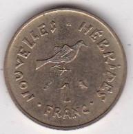 Nouvelles - Hébrides 1 Franc 1970 En Bronze Alu Nickel. KM# 4.1 - Vanuatu