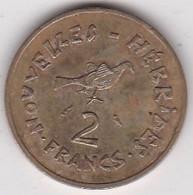 Nouvelles - Hébrides 2 Francs 1973 En Bronze Alu Nickel. KM# 5.2 - Vanuatu