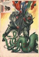 Militari  Soldati Tripartito Contro Piovra URSS Dis. Casolaro FG M536 - Unclassified