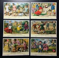 LIEBIG 1962 : SAN 1776 - UNI 1762 - COMPLETE SET OF 6 CARDS - BELGIAN-BEL - Liebig
