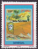 Timbre Oblitéré N° 1726(Yvert) Sénégal 2004 - Rallye Paris-Dakar, Voir Description - Senegal (1960-...)