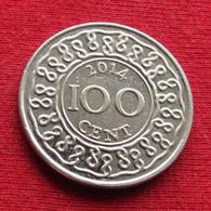 Surinam 100 Cents 2014 KM# 23 Suriname Surinão - Surinam 1975 - ...