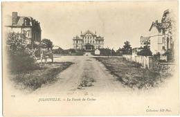 CPA Précurseur De JULOUVILLE (50) – La Façade Du Casino. Collections ND Phot, N° 155. - Sonstige Gemeinden