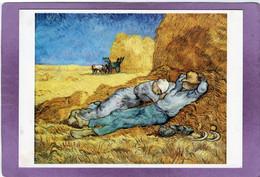 75 PARIS  Musée D'Orsay  Vincent VAN GOGH La Méridienne (d'après Millet ) Huile Sur Toile - Schilderijen