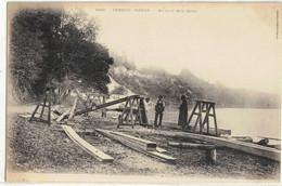 CPA  VENEUX - NADON Au Bord De La Seine  N° 1922 - Altri Comuni
