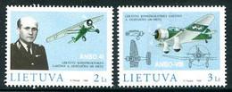 LITHUANIA 1998 Gustaitis Centenary MNH / **. . Michel 662-63 - Lituania