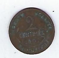 Monnaie - France - 2 Centimes - 1907 - B. 2 Centimes