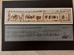 Alderney 2014 Bayeux Tapestry Tapisserie Wandteppich Michel No. Bl. 35 (502) MNH Mint Postfrisch Neuf ** - Alderney