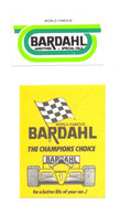 BARDHAL SPECIAL OILS (x 2) YEAR 1989 - Stickers