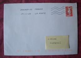 F 2020/  Marianne Briat 1,16 € Sur Lettre Obl 17.11.20 / Livret 50 Ans De L'Imprimerie - Nuovi