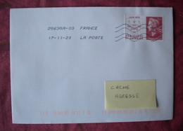 F 2020/  Marianne Cheffer 1,16 € Sur Lettre  Obl 17.11.20 / Livret 50 Ans De L'Imprimerie - Nuovi
