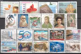 ITALIA. Post 2000 Francobolli Differenti Grande Formato - Lotto GH. - 2001-10: Usados