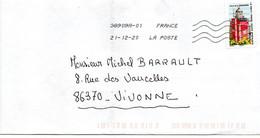 """2020--tp  Adhésif  """" Phare De La Caravelle """"   Seul Sur Lettre  ... - 1961-...."""