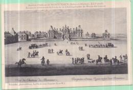 77 - MONTCEAUX-LÈS-MEAUX - Ancien Château - Estampe Provenant Du Musée Du Louvre - Photo. Brindelet, La Ferté-ss-Jouarre - Otros Municipios