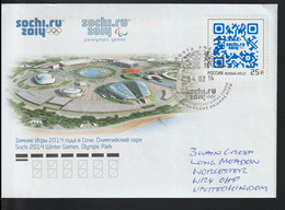 Russia Cover 2014 Sochi Olympic Games - QR Codes (G121-47) - Inverno 2014: Sotchi