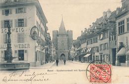 Basel - Spalenvorstadt + 1905 - BS Basle-Town