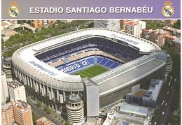 POSTAL    ESTADIO SANTIAGO BERNABEU  (EDIC. 07) - Calcio