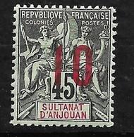 Anjouan   N°  27    Neuf *    B/TB     Soldé à Moins De 10 %        Le Moins Cher Du Site  ! ! ! - Unused Stamps