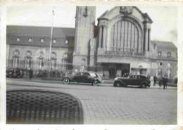 Luxembourg  La Gare -  Chemin De Fer  - Locomotive Vapeur - Atelier  2 X Photographies 8,5  X 6 Cm - Plaatsen