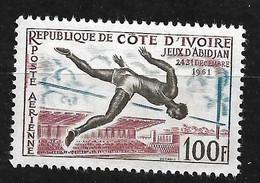 Côte D' Ivoire Poste Aérienne N°21 Saut En Hauteur Ventral Neuf * * B/TB Soldé à Moins De 10 % Le Moins Cher Du Site ! ! - Atletica