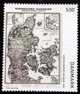 Denmark 2009  Old Denmark Map   MiNr.1534 MNH (**)     ( Lot B 15) - Nuevos