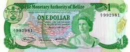 BELIZE 1980 1 Dollar - P.38a Neuf UNC - Belize