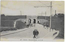 LILLE - PORTE DE BETHUNE - BELLE ANIMATION - VERS 1900 - Lille