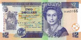 BELIZE 2002 2 Dollar - P.60b Neuf UNC - Belize