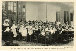 CHINE - Une école Chez Les Soeurs De St-Paul De Chartres à Yunnanfou - Missie
