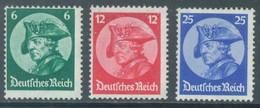 REICH - 1933 - MNH/*** LUXE  - FRIEDRICH - Mi 479-481 Yv 467-469 - Lot 22983 - Unused Stamps