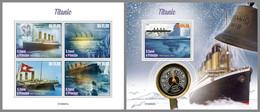 SAO TOME 2020 MNH Titanic M/S+S/S - OFFICIAL ISSUE - DHQ2051 - Bateaux
