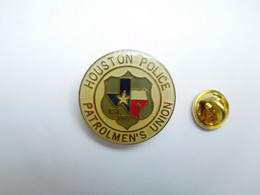 Beau Pin's , Police Houston , Patrolmen's Union , USA - Polizia