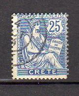 CRETE      Oblitéré    Y. Et T.   N° 9     Cote: 3,70 Euros - Oblitérés