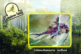 Set 8 Cartes Postales, Animaux Prehistoriques, Carboniferous Period (2) - Otros