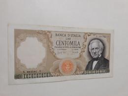 ITALIA MANZONI LIRE 100000 SERIE V 084341 Y 19/07/1970 CIRCOLATA - 100000 Lire