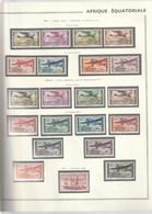 AEF Poste Aerienne 1937 à 1944 Neuf* - Unused Stamps