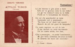ATTILIO TURCO - SONETTI VERONESI - NON VIAGGIATA - Artisti