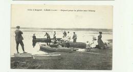 40 - LEON - Depart Pour La Peche Sur L'étang Animé Bon état - Altri Comuni