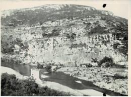 30 : Gard - Gorges Du Gardon à La Baume - Le Vieux Moulin -  Très Belle Photo (12cm X 8,5cm) - 1906 - (voir Scan) - Other Municipalities