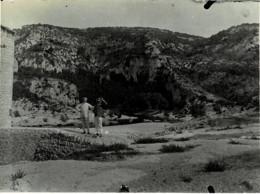30 : Gard - Gorges Du Gardon à La Baume - Vieux Moulin à Gauche - Très Belle Photo (12cm X 8,5cm) - 1906 - (voir Scan) - Other Municipalities