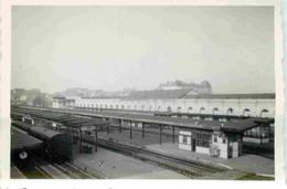 France RENNES 1948  Quais De La Gare - Wagons   Photographie  8,5 X 6 Cm - Treinen