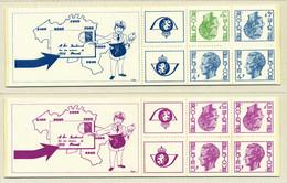 NB - [151202]SUP//**/Mnh-B10/11, Carnets De 1973, Type Elstrom, 3-4 Et 5 Frs, SNC - Booklets 1953-....
