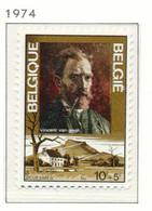 NB - [151259]SUP//**/Mnh-N° 1725, Vincent Van Gogh, Tableau, Autoportrait Et Sa Maison à Cuesmes, SNC - Ongebruikt