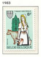 NB - [152286]TB//**/Mnh-N° 2100, Tinekesfeesten à Heule, Traite Des Vaches, SNC - Ongebruikt
