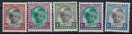 Luxembourg - Luxemburg  Timbres 1931 ,Caritas Princesse Alix , Série * , KW 100,- - Blocks & Sheetlets & Panes