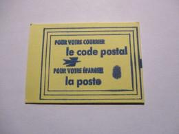France Timbre *** Carnet Scellé Vignette De Code Postal 31200 Toulouse - Definitives