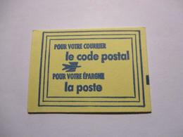 France Timbre *** Carnet Scellé Vignette De Code Postal 54000 Nancy - Definitives