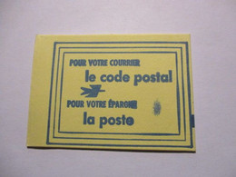 France Timbre *** Carnet Scellé Vignette De Code Postal 54100 Nancy - Definitives