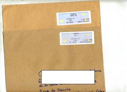 Lettre Vignette Verdun Saumur Annexe GA - 2000 «Avions En Papier»