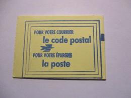 France Timbre *** Carnet Scellé Vignette De Code Postal 67100 Strasbourg - Definitives